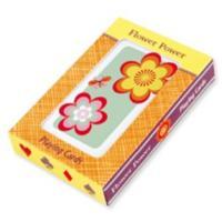 Mudpuppy Flower Power Playing Cards