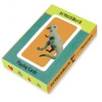Mudpuppy Dinosaurs Playing Cards