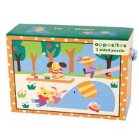 Mudpuppy Up/Down 2-in-1 Puzzle