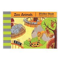 Mudpuppy Zoo Animals Book of Stickers