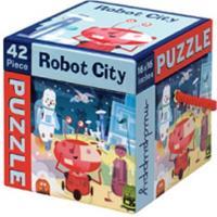 Mudpuppy Robot City 42 pc. Puzzle