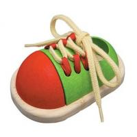Plan Toys Preschool Tie-Up Shoe