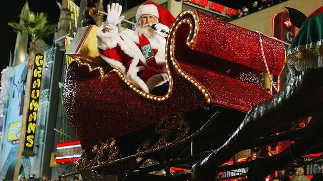 Hollywood Christmas Parade | La JaJa