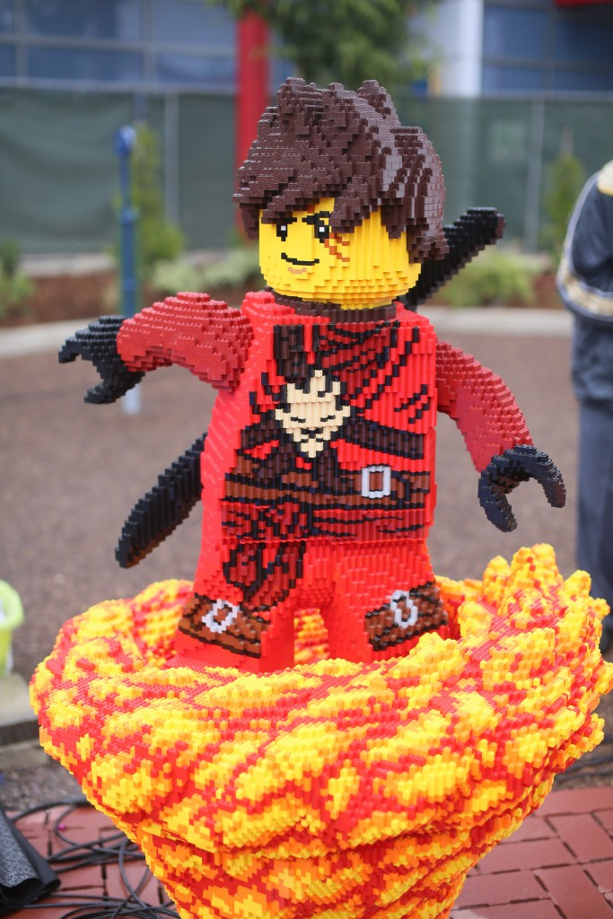 Ninjago Ride at Legoland California.(Photo by Sandy Huffaker/Legoland)