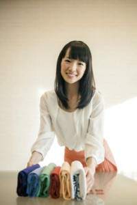 "A self-described ""crazy tidying fanatic,"" Marie Kondo has a new book with detailed suggestions for how to clear your home of most items that do not ""spark joy"" while appreciating the mundane necessities of life, such as screwdrivers. MUST CREDIT: Photo for The Washington Post by Marie Takahashi"
