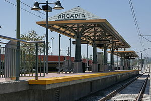 metro arcadia station