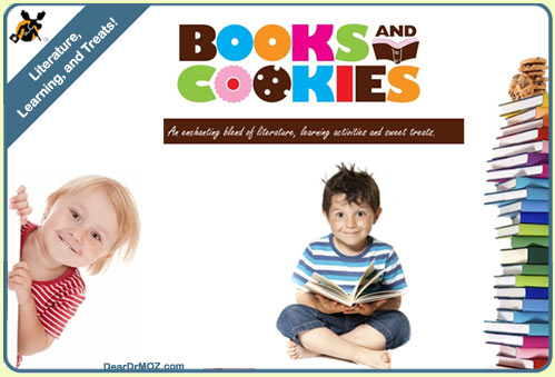 Image result for books and cookies