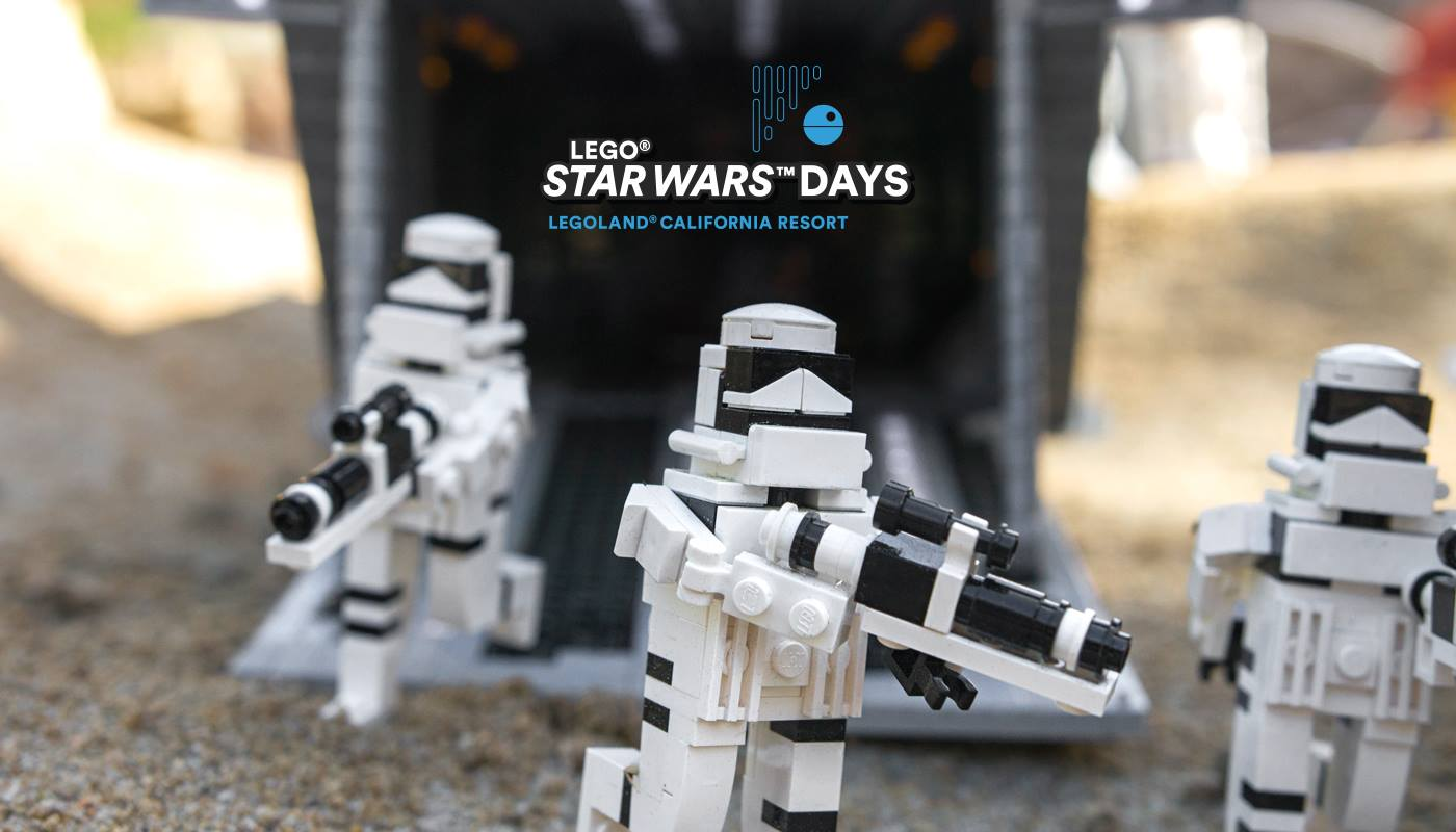 Upcoming Events Star Wars Days At Legoland California Resort La Jaja
