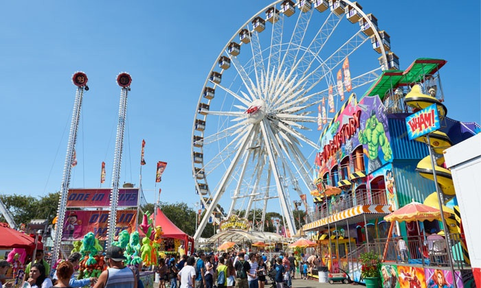 The Orange County Fair is located in Middletown, NY and is New York's OLDEST Fair! The Fair takes place annually in July and features live entertainment, carnival rides, food, and more.