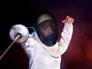 fencing kid