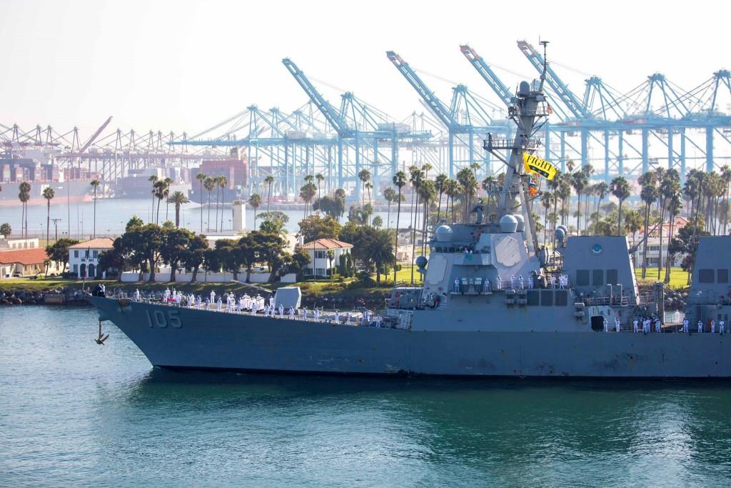 fleet 6 USS Dewey