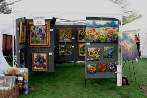 Artscape booth arboretum 2012