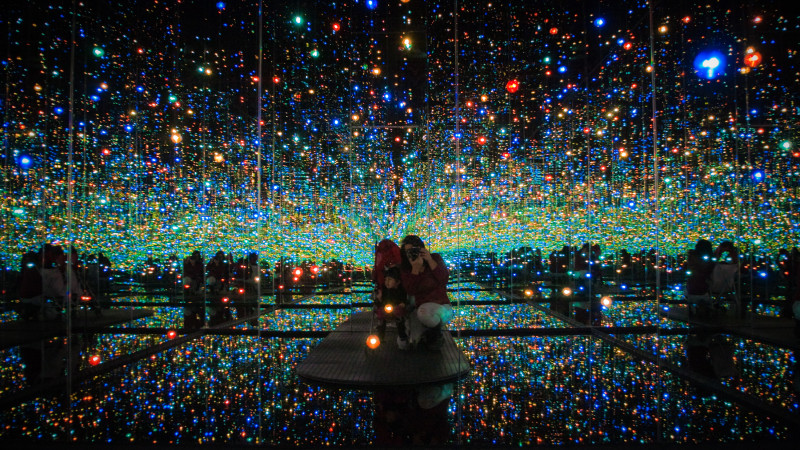 The Broad Room Of Lights