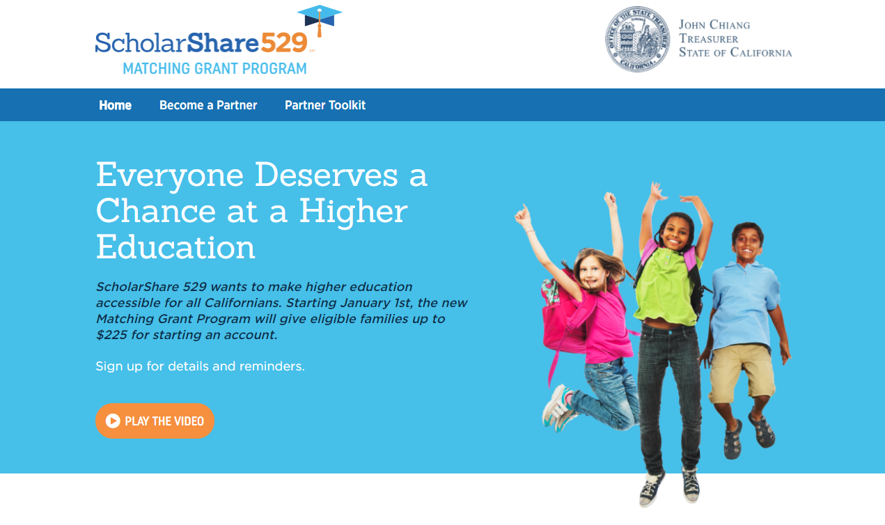Scholarshare Matching Grant Program