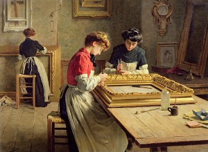 interior-of-a-frame-gilding-workshop-louis-emile-adan