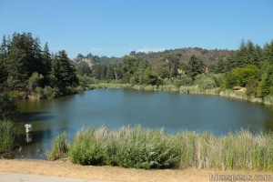 Franklin Canyon Lake in Franklin Canyon Park