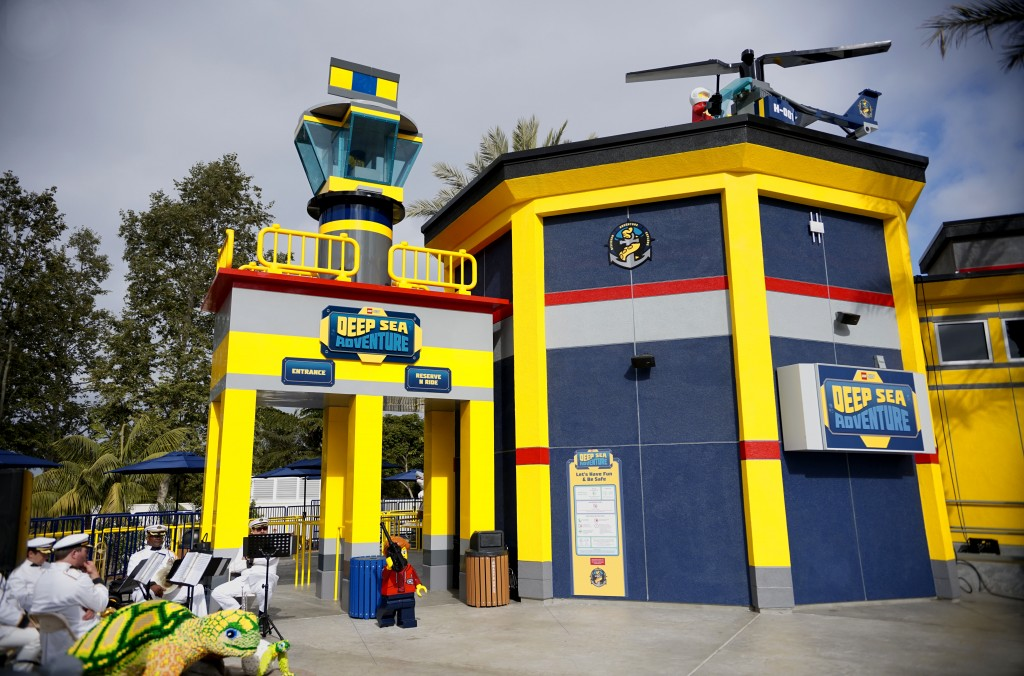 LEGO® City Deep Sea Adventure submarine ride grand opening on Monday, July 2, 2018 at Legoland California.(Photo by Sandy Huffaker/Legoland)