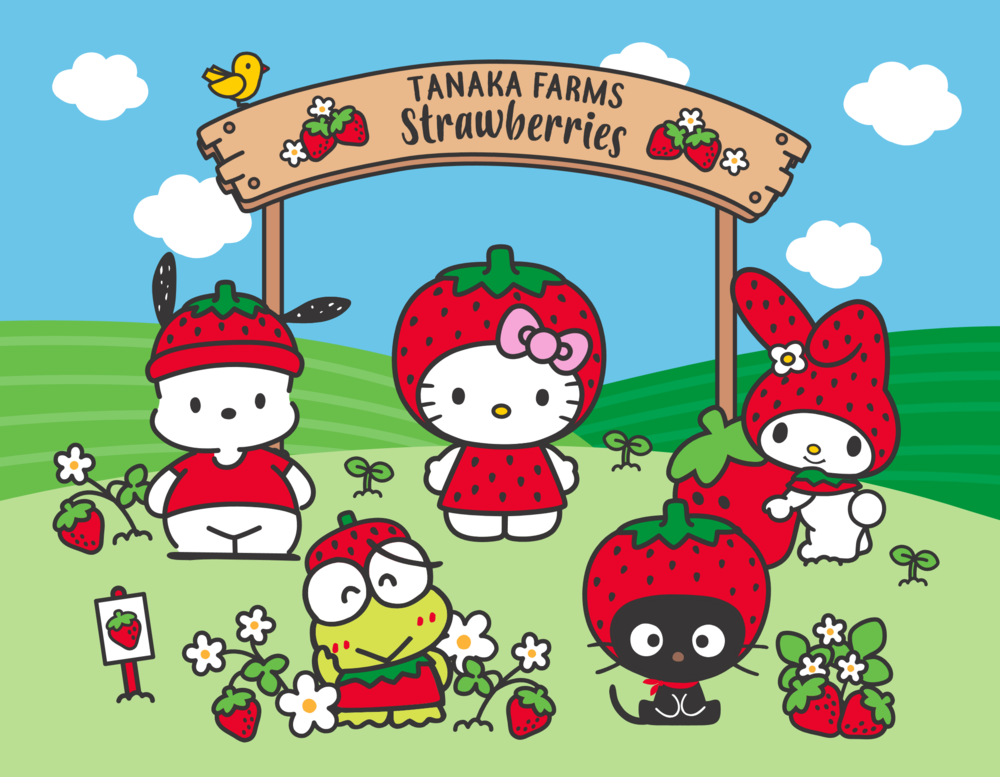 Strawberry+Season+Sanrio