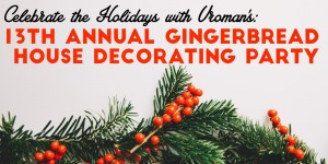 Gingerbread House Deocrating Party