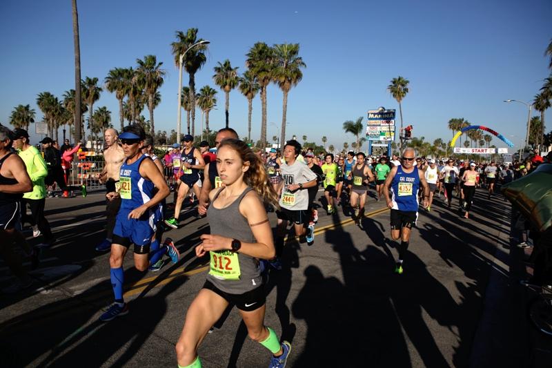Redondo Beach 10k - Start