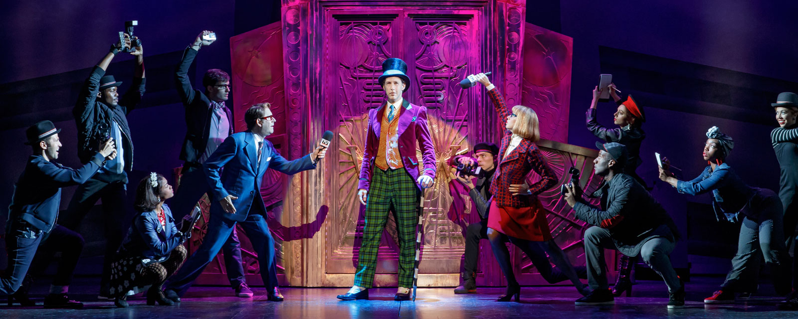 charlie and the chocolate factory pantages